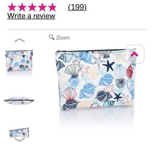 thirty-one Bags - Thirty one zipper pouch saltwater seashells